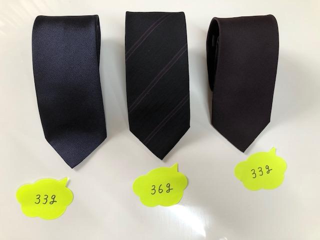 軽量ネクタイ